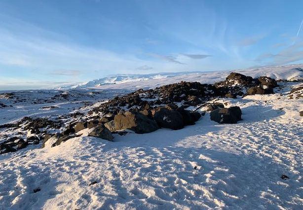 アイスランドの風景写真